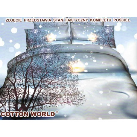 Pościel Cotton World 160x200