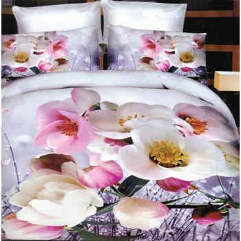Pościel Kolorowa kwiaty 3D 3 160x200