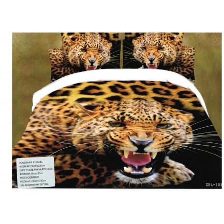 Pościel Kolorowa pieski 3D N1 160x200