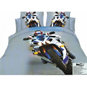 Pościel Motocykl 3D 19 160x200