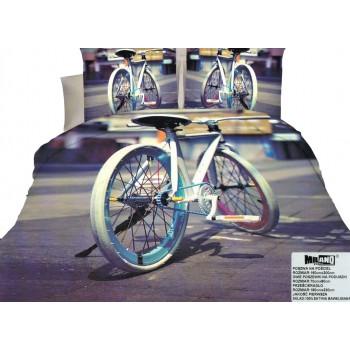 Pościel Rower 3D 160x200 55
