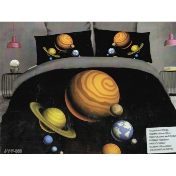 Pościel Kosmos 3D 160x200 101