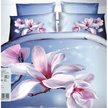 Pościel Kwiaty 3D 160x200 91