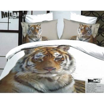 Pościel Tygrys 3D 160x200 89