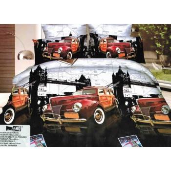 Pościel Auto 3D 160x200 87