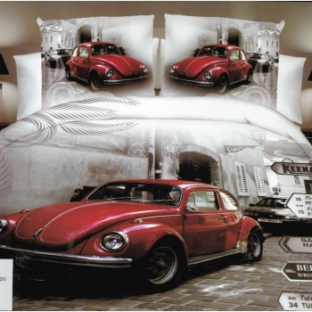 Pościel Auto 3D 160x200 86
