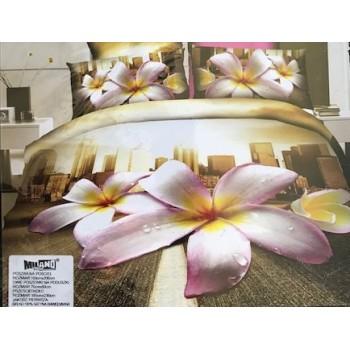 Pościel Kwiaty 3D 160x200 85