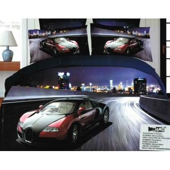 Pościel Auto 3D 160x200 81