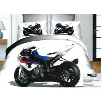 Pościel Motocykl 3D 160x200 80