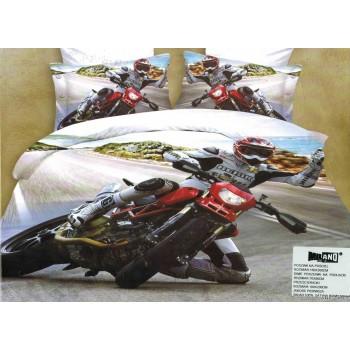Pościel Motocykl 3D 160x200 79