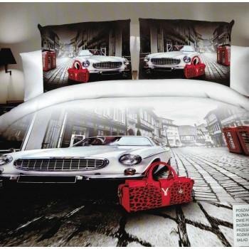 Pościel Auto 3D 160x200 73
