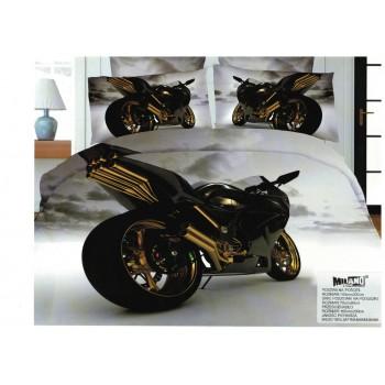 Pościel Motocykl 3D 140x200 104