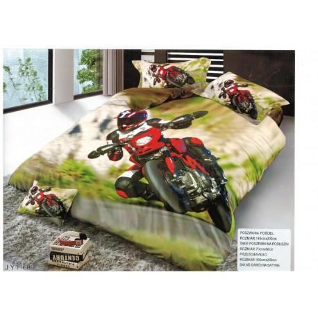 Pościel Motocykl 3D 140x200 114