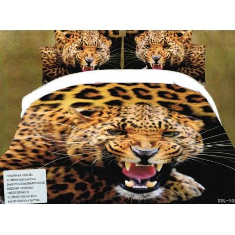 Pościel Lampart 3D 200x220 50