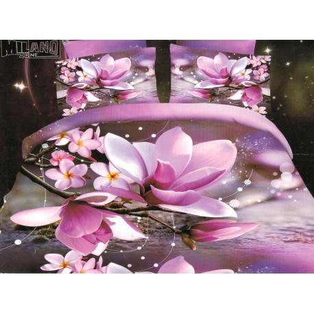 Pościel Kwiaty 3D 200x220 75