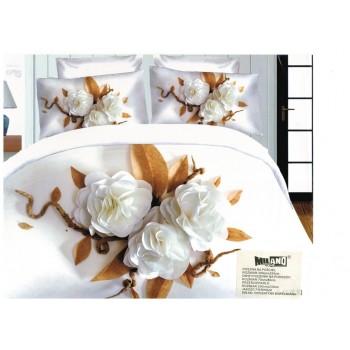 Pościel Kwiaty 3D 200x220 106